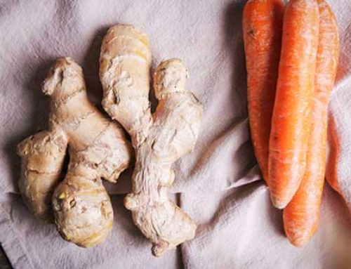 The Crunch on Raw Fermented Ginger Carrots