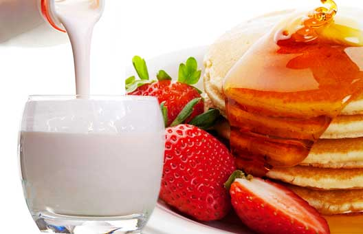 buttermilk and pancakes