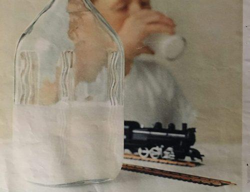 Milk in Glass Bottles for a Reason