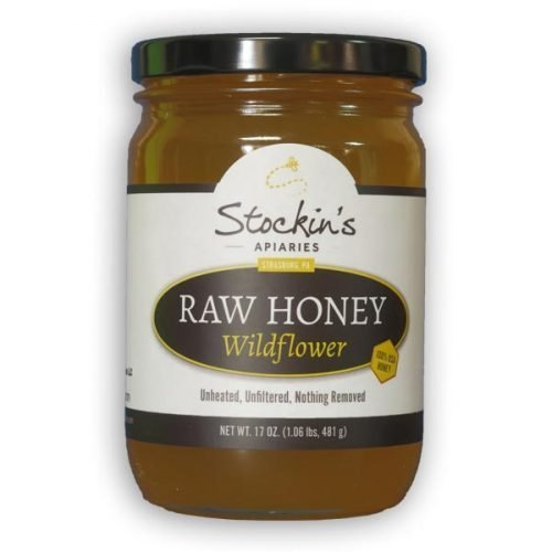 17 oz. Raw Wildflower Honey